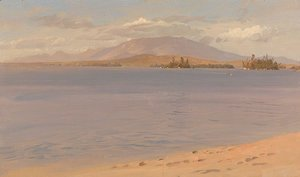 Frederic Edwin Church - Mount Katahdin from Lake Millinocket