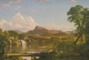 Frederic Edwin Church - New England Scenery 2