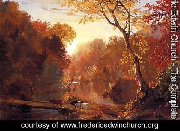 Frederic Edwin Church - Autumn In North America
