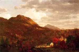 Frederic Edwin Church - Autumn On The Hudson