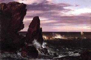 Frederic Edwin Church - Coast Scene