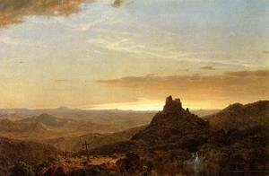 Frederic Edwin Church - Cross In The Wilderness