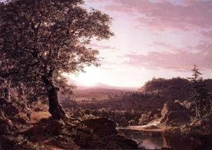Frederic Edwin Church - July Sunset  Berkshire County  Massachusetts