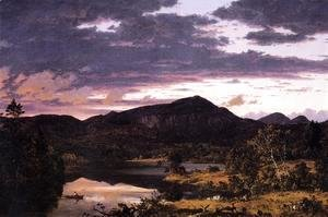Frederic Edwin Church - Lake Scene In Mount Desert