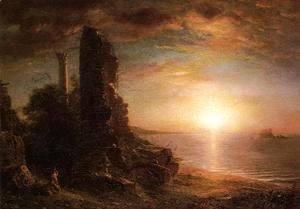 Frederic Edwin Church - Landscape In Greece