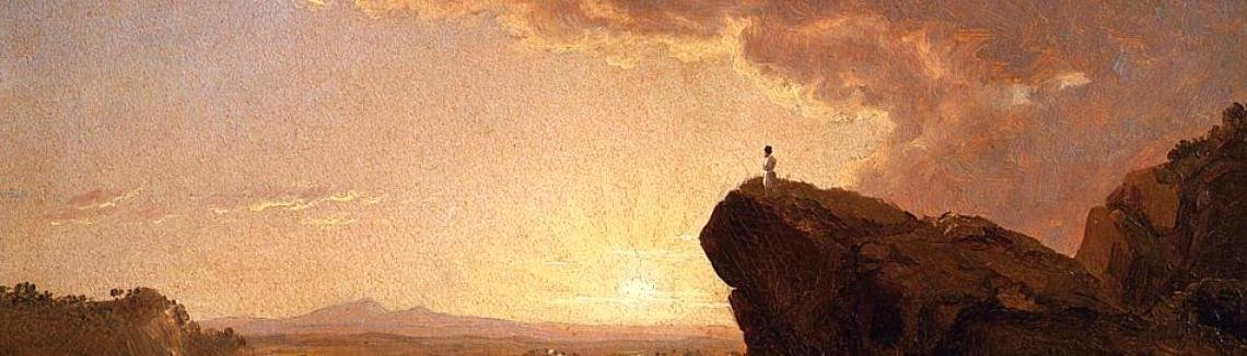 Frederic Edwin Church - Moses Viewing The Promised Land