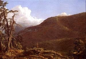 Frederic Edwin Church - New England Landscape