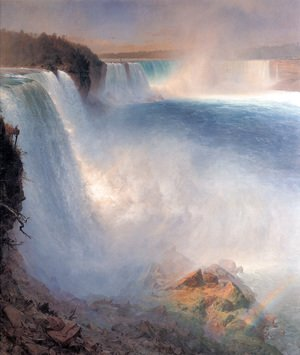 Frederic Edwin Church - Niagara Falls  From The American Side