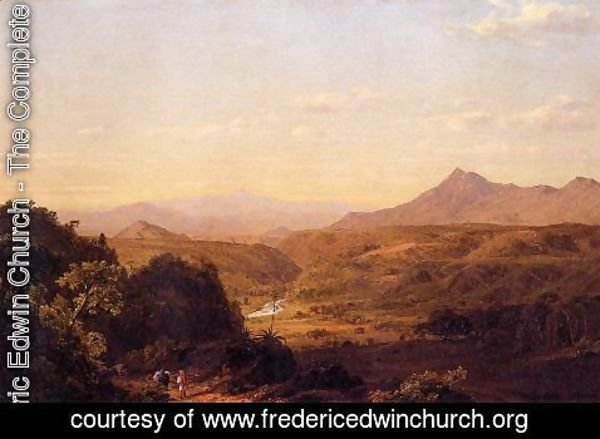 Frederic Edwin Church - Scene Among The Andes