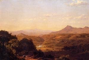 Scene Among The Andes