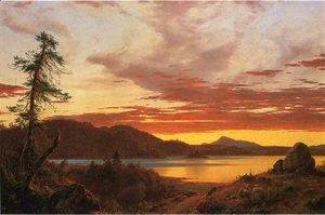 Frederic Edwin Church - Sunset