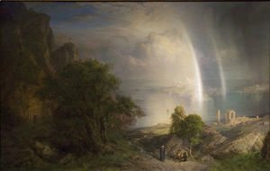 Frederic Edwin Church - The Aegean Sea