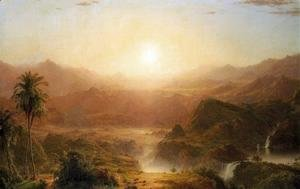 Frederic Edwin Church - The Andes Of Ecuador2