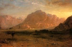 Frederic Edwin Church - The Arabian Desert