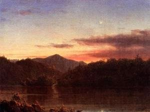 Frederic Edwin Church - The Evening Star