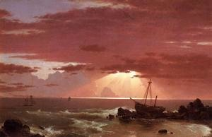 Frederic Edwin Church - The Wreck