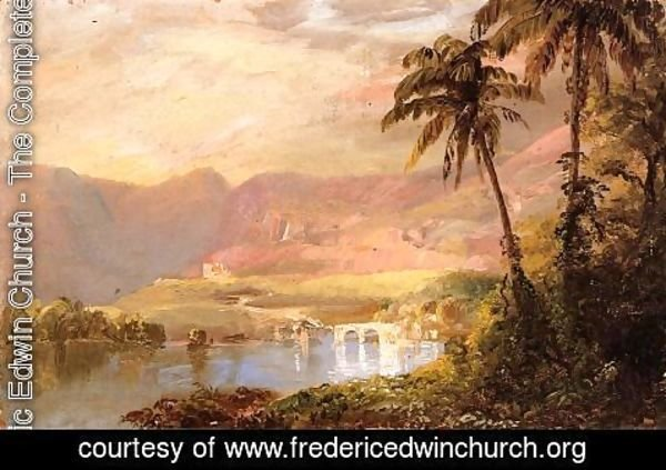 Frederic Edwin Church - Tropical Landscape