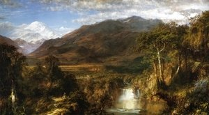 Frederic Edwin Church - The Heart of the Andes 1859