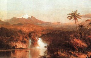 Frederic Edwin Church - Cotopaxi 1857